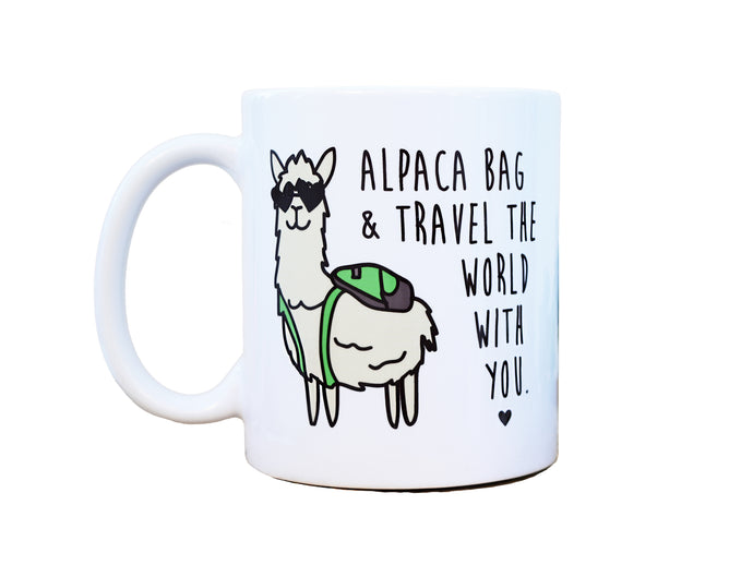 ALPACA BAG & TRAVEL - Mug
