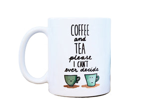 COFFEE & TEA PLEASE - Mug