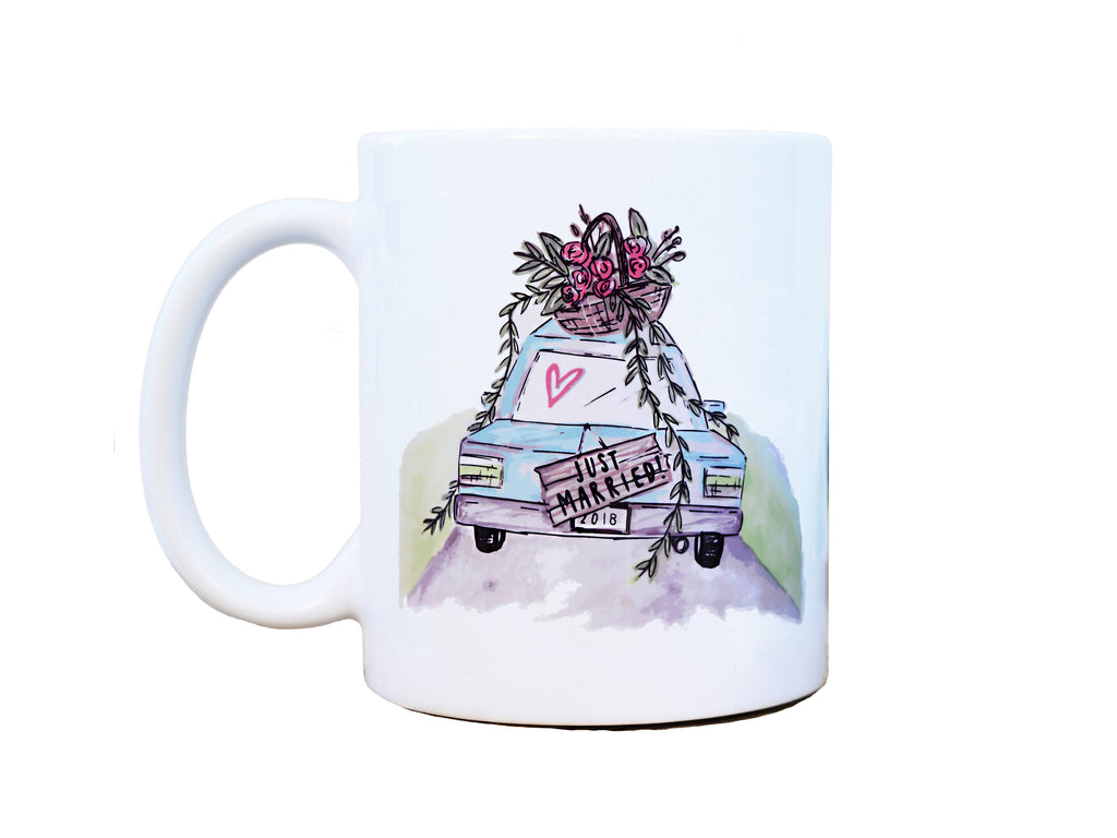 JUST MARRIED - Mug
