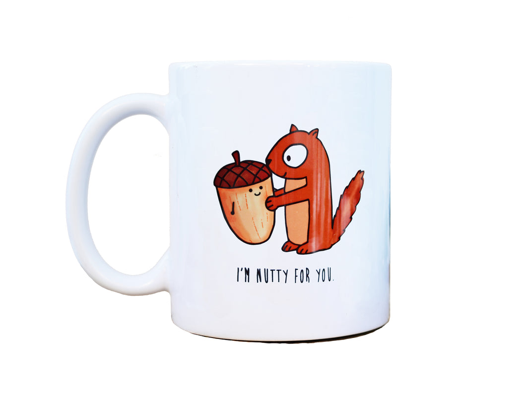 NUTTY FOR YOU - Mug