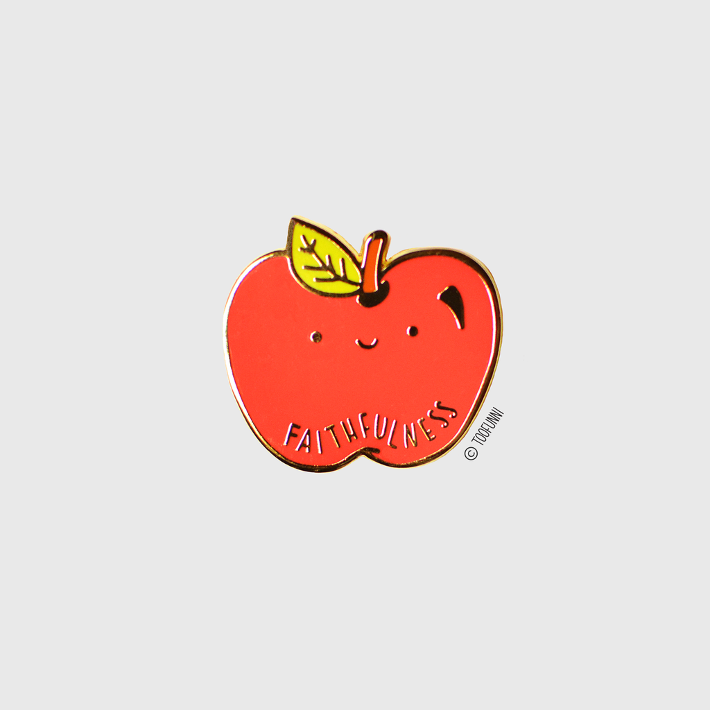 FAITHFULNESS - Enamel Pin