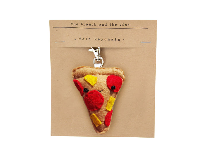 PIZZA - Keychain/Ornament