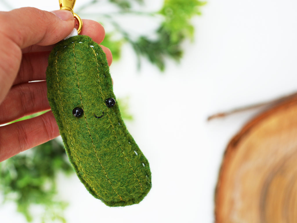 PICKLE - | Keychain | Ornament | or | Magnet |