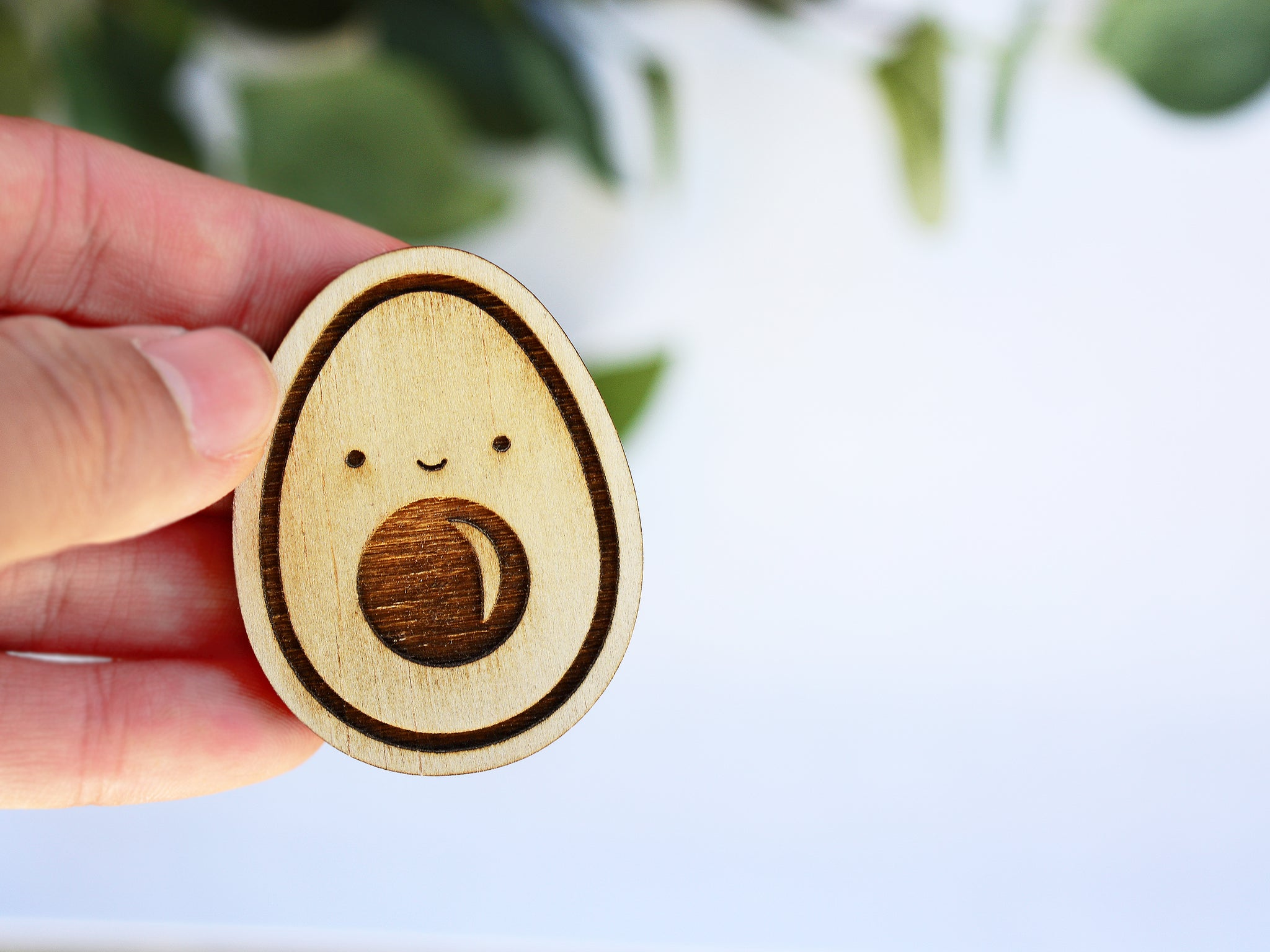 Avo Wood Laser Cut Keychain Or Magnet The Branch And The Vine