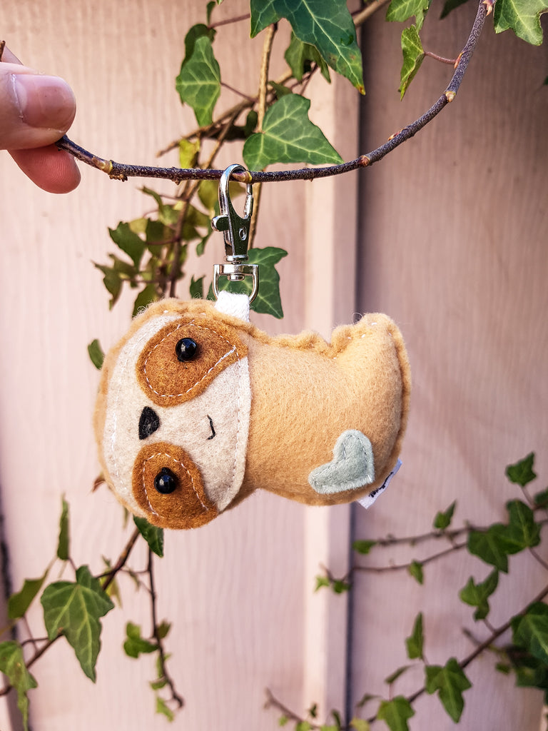SLOTH - Colour Options - | Keychain | Ornament | or | Magnet |