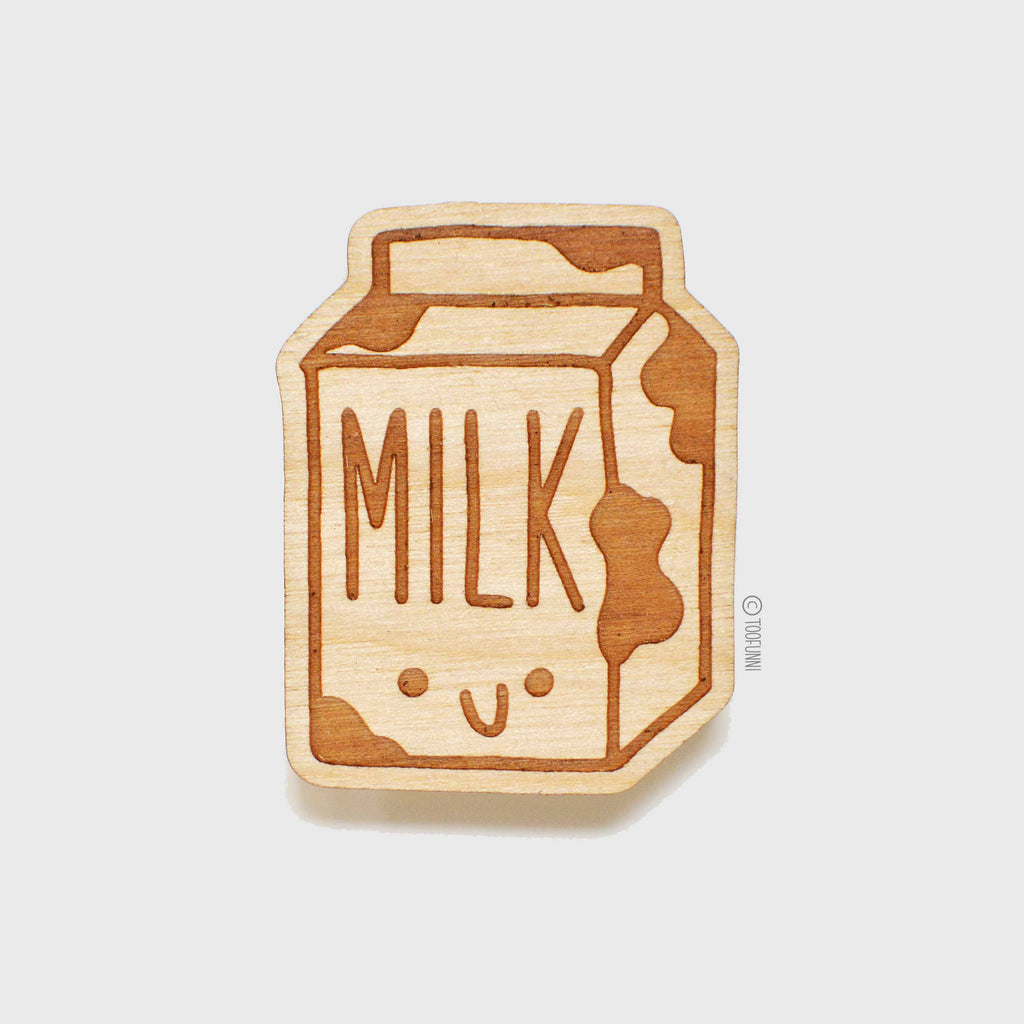 MILK - Wood Keychain or Magnet