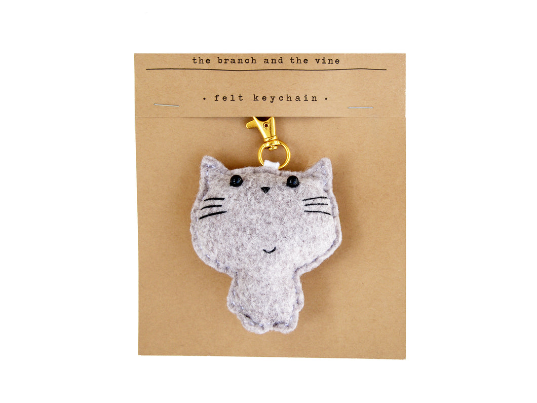 MEOW CAT - Colour Options - | Keychain | Ornament | or | Magnet |