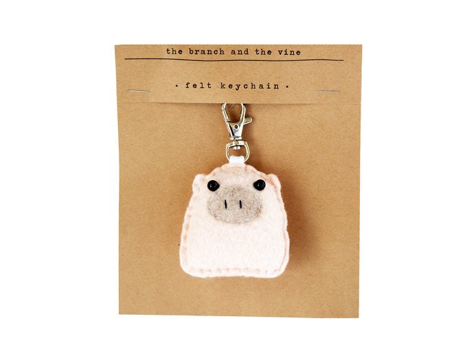 PIGGY - | Keychain | Ornament | or | Magnet |