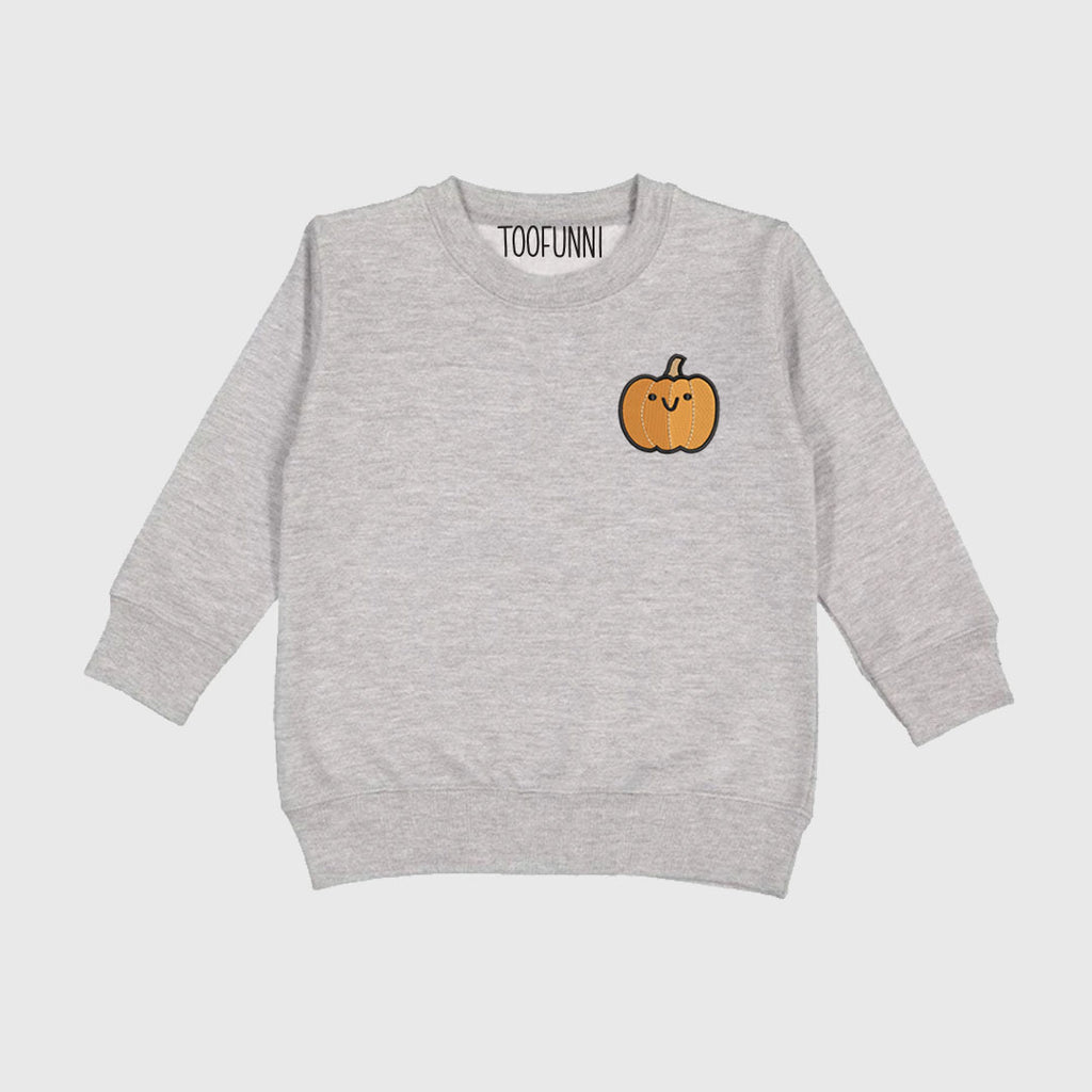 ADD-ON to Photoshoot Box - PUMPKIN TODDLER Crewneck Sweatshirt
