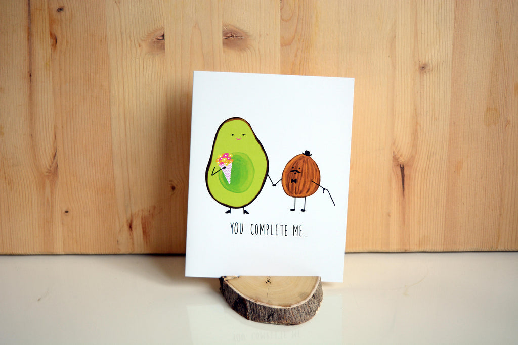 YOU COMPLETE ME - Card