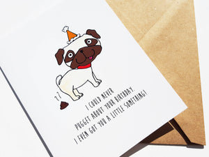 PUG BIRTHDAY - Card