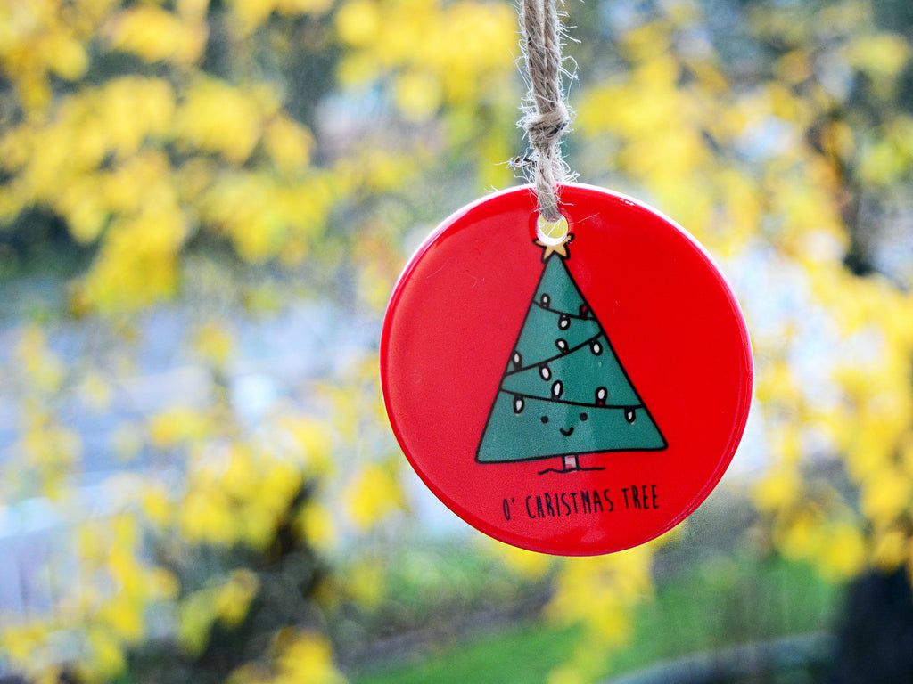 CHRISTMAS TREE - Ceramic Ornament