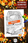 Free Printable Coloring Page for Fall by C.A. Hartnell!