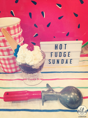Ice Cream Adventures Blog on National Hot Fudge Sundae Day