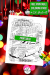 Printable Coloring Page for Winter by C.A. Hartnell!