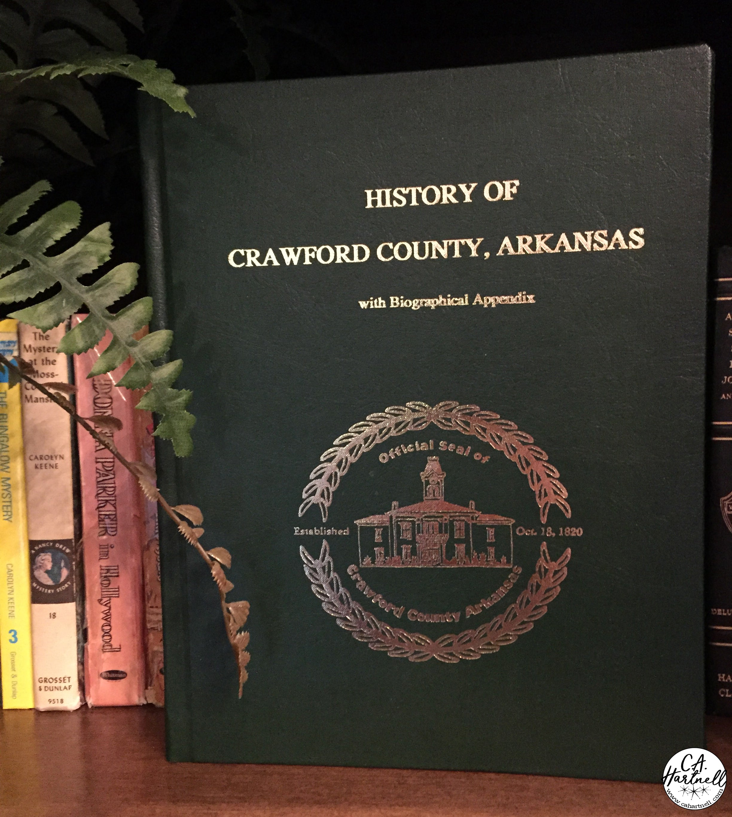 History of Crawford County Arkansas - C.A. Hartnell
