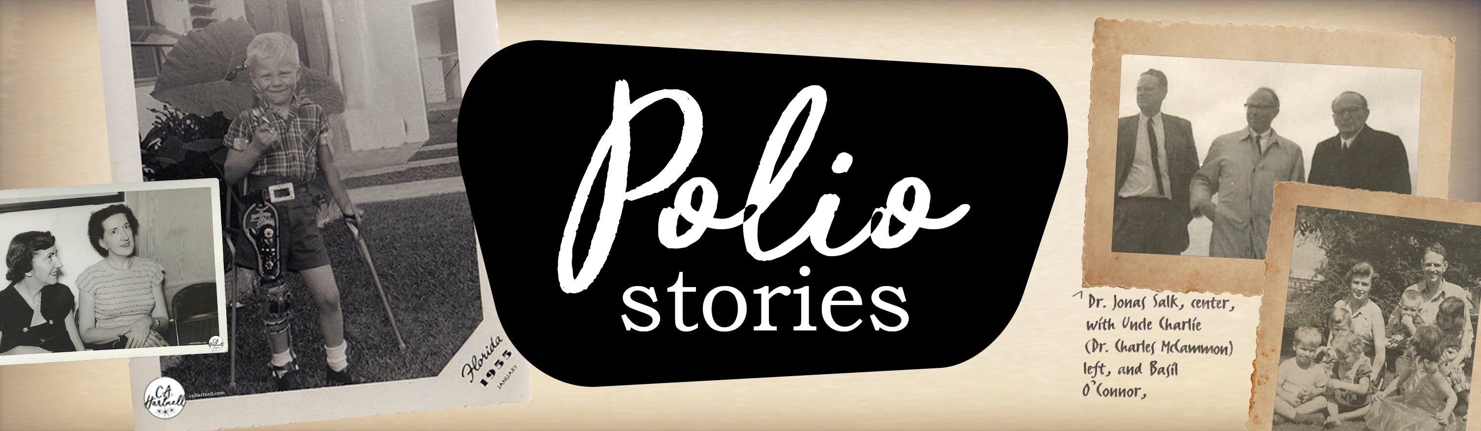 #MyPolioStory | C.A. Hartnell