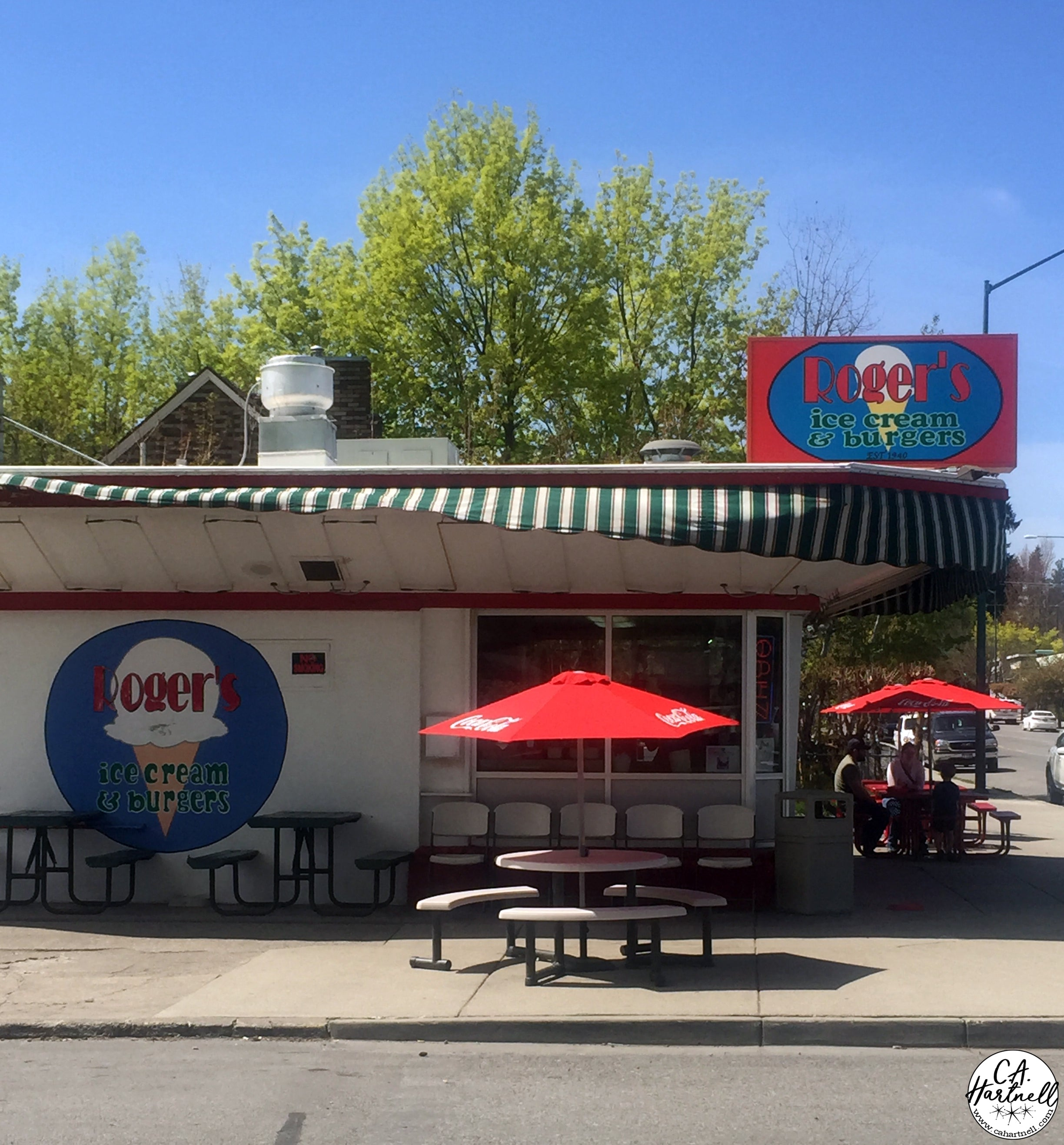 Roger's Ice Cream and Burgers | C.A. Hartnell