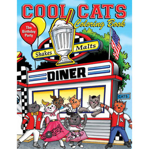 Cool Cats Coloring Book by C.A. Hartnell