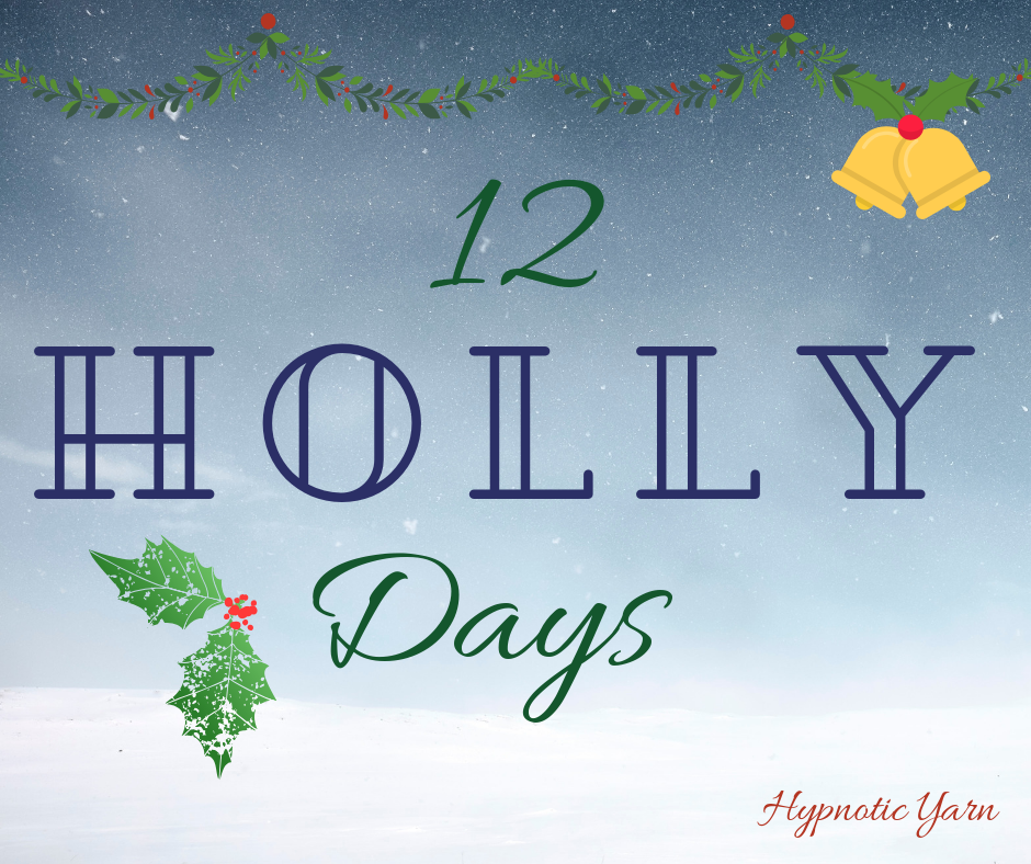 8th Holly Day: Cheryl Sells Seashells Shawl