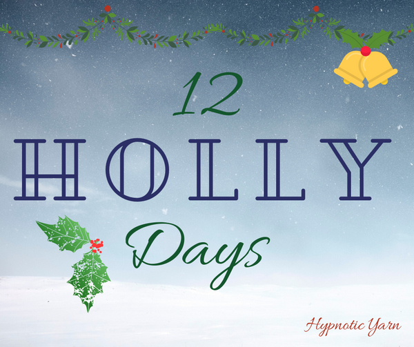 12th Holly Day: All Button Up Pillow Cover