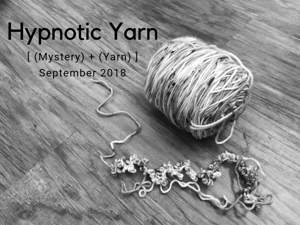 September 2018 Mystery Yarn Club Reveal