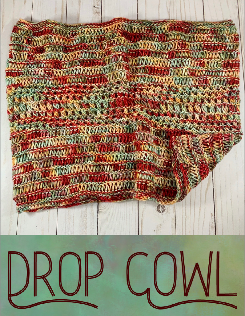 2020 Holly Days: Drop Cowl