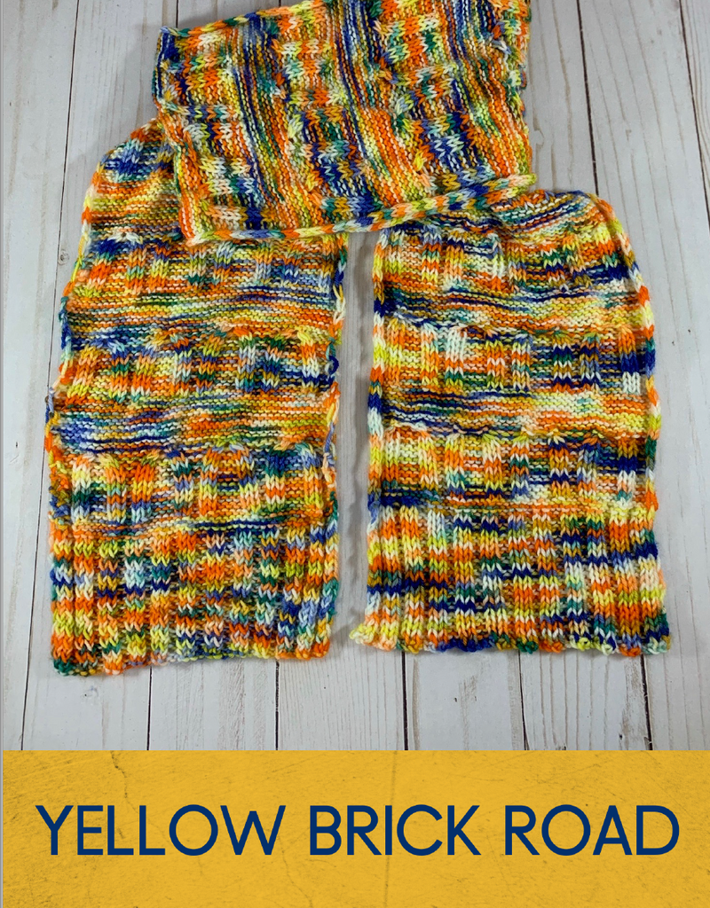 2020 Holly Days: Yellow Brick Road Scarf