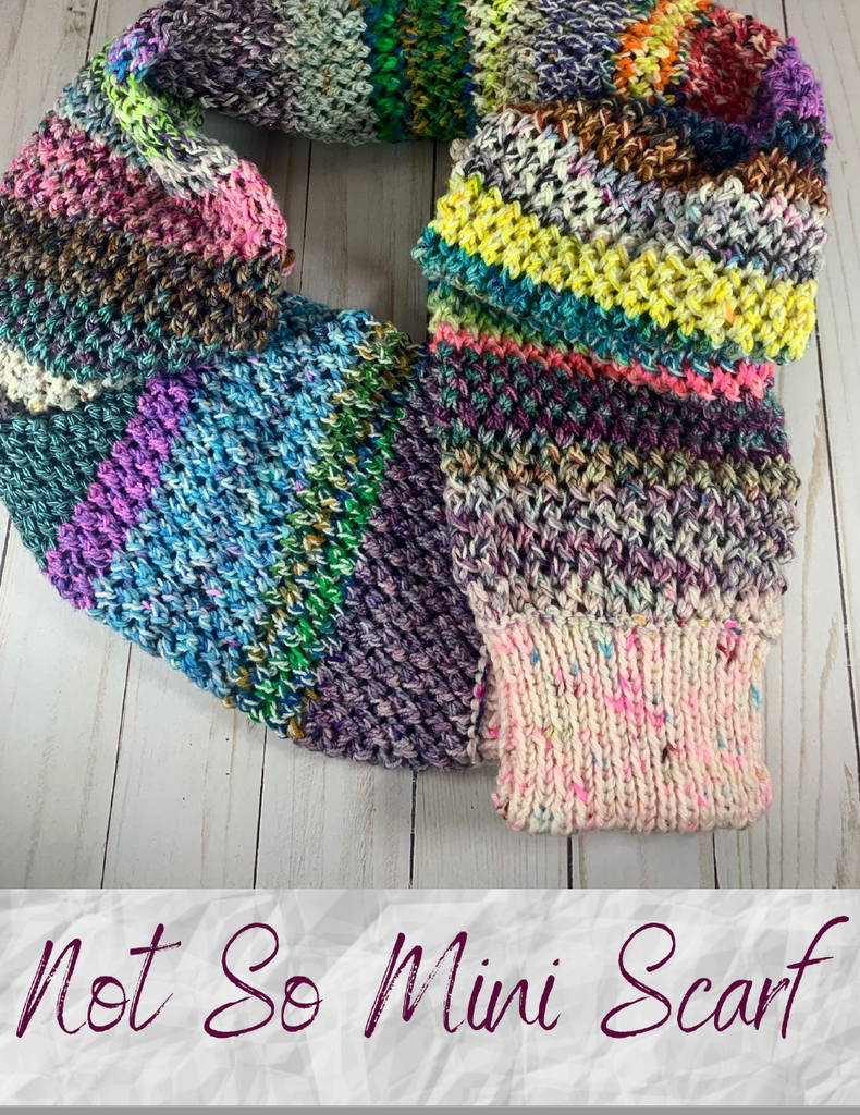 2020 Holly Days: Not So Mini Scarf