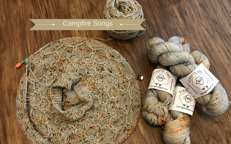What's Knittin'? Campfire Songs + Wool and Honey Sweater