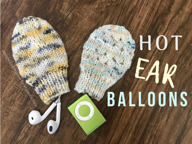 Hot Ear Balloons: a free pattern
