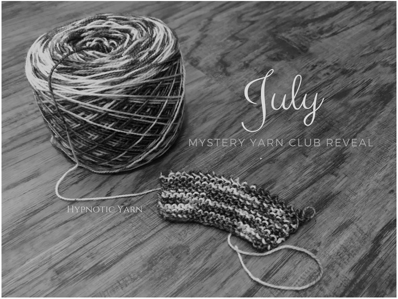 July Mystery Yarn Club reveal
