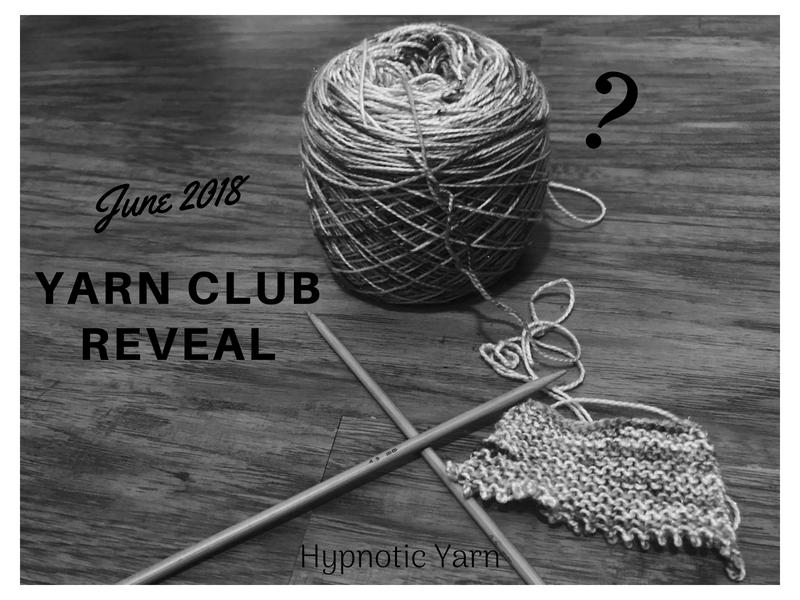 June Mystery Yarn Club Reveal