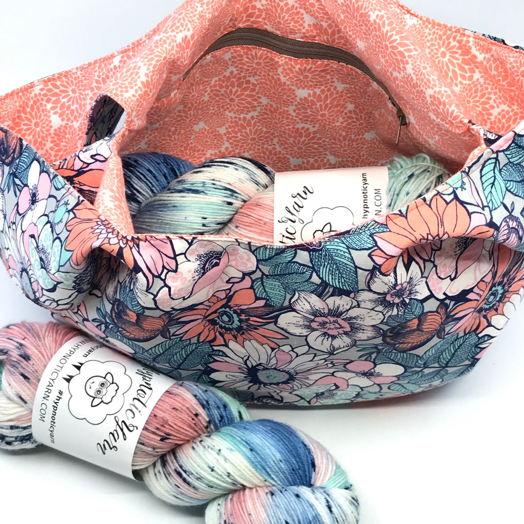 Think Spring Project Bag and Yarn Kit - PreOrder