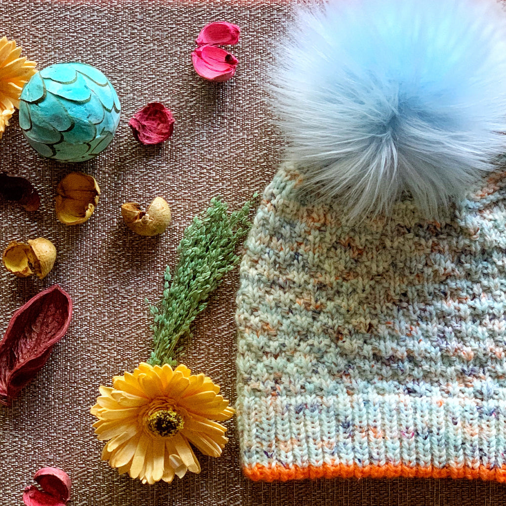 Frosty Hat Pattern: Digital Download