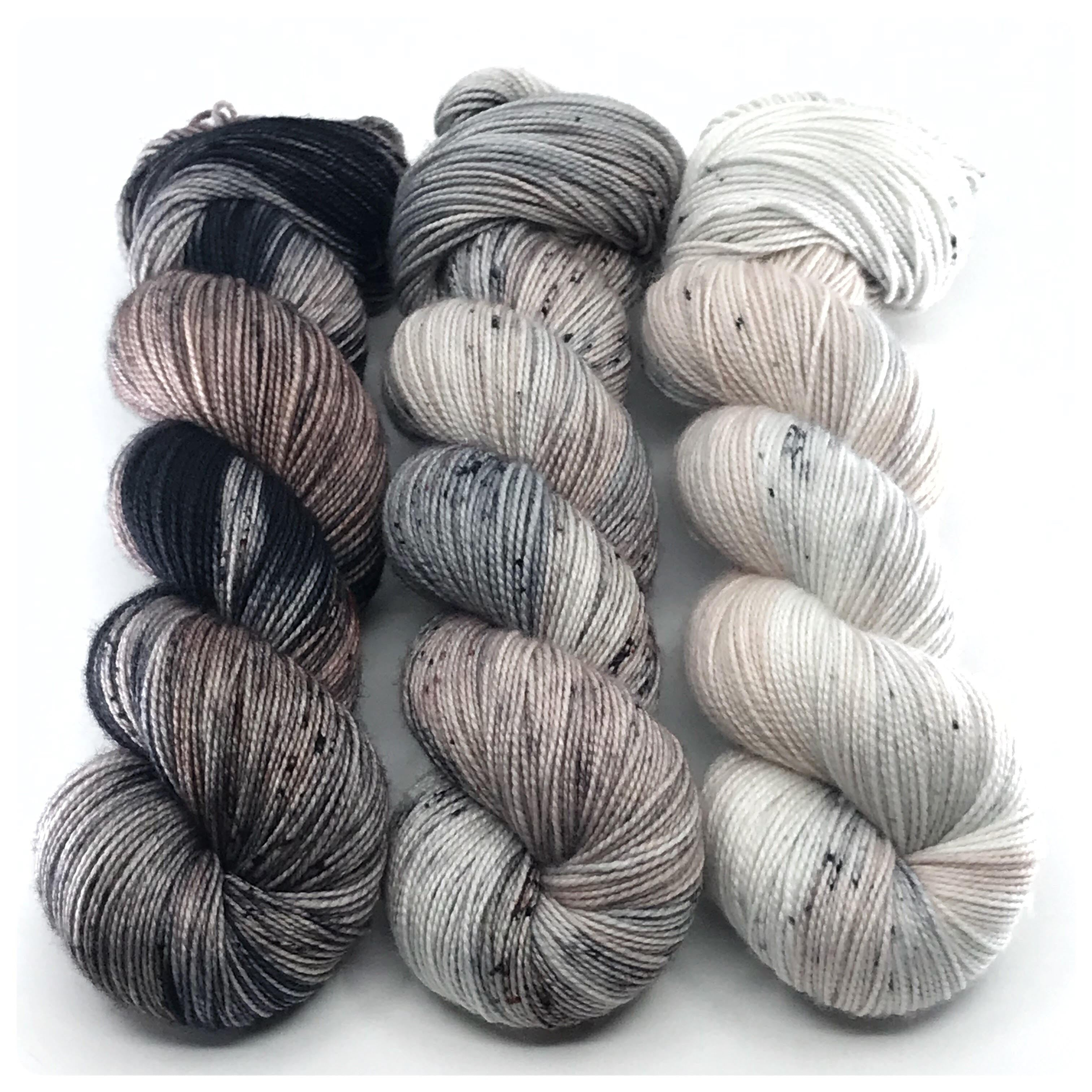 Driftwood Impressionists MKAL Kit, hand dyed yarn