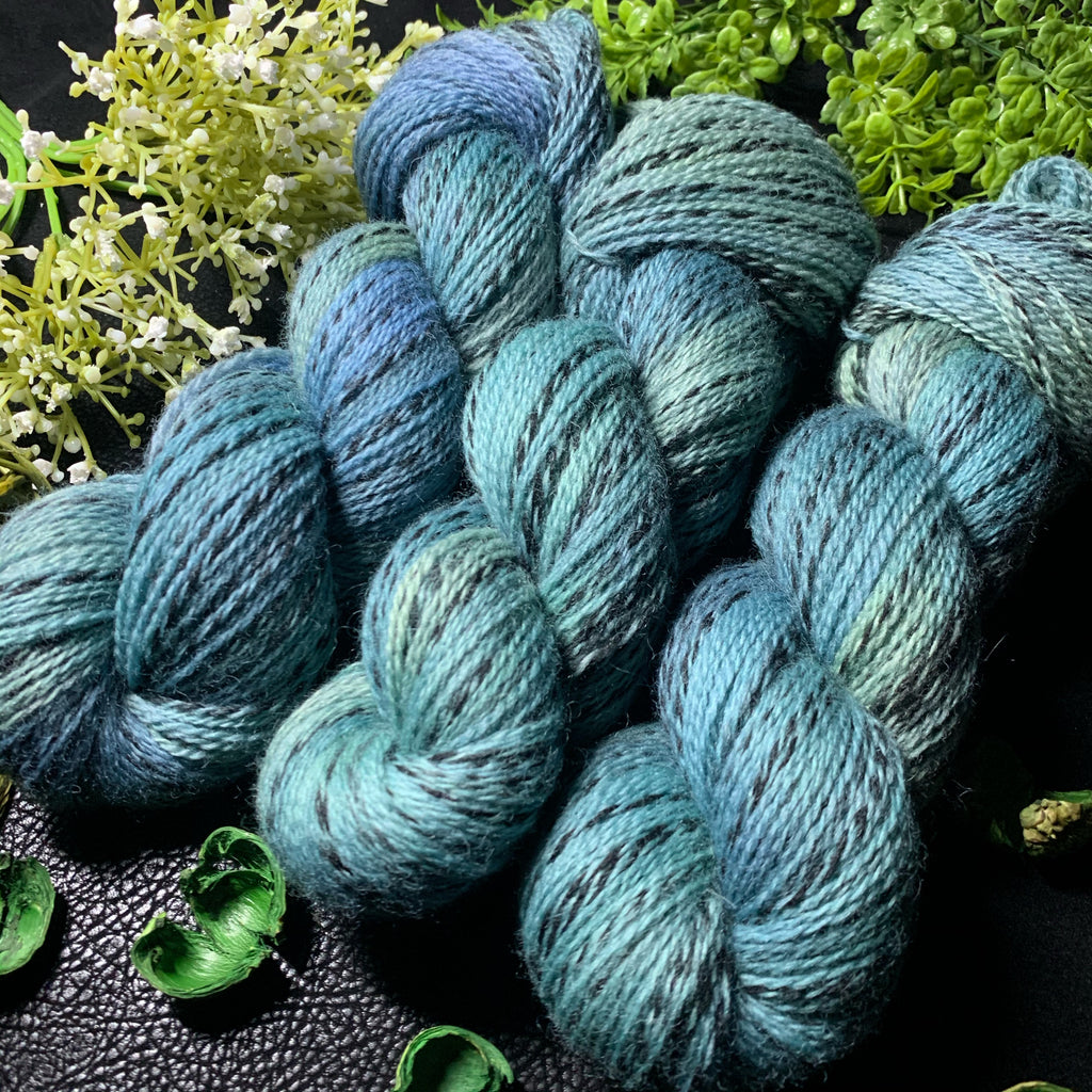 Helix OOAK 'The Blues', NON Superwash Fingering Weight