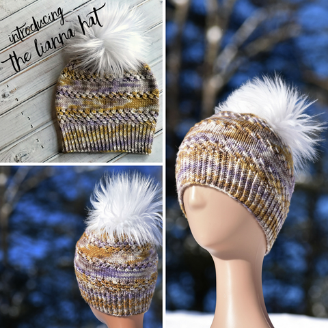 Lianna Hat Pattern: Digital Download