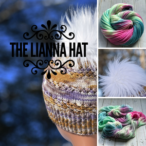 Lianna Hat Kit in Nymph Colorway