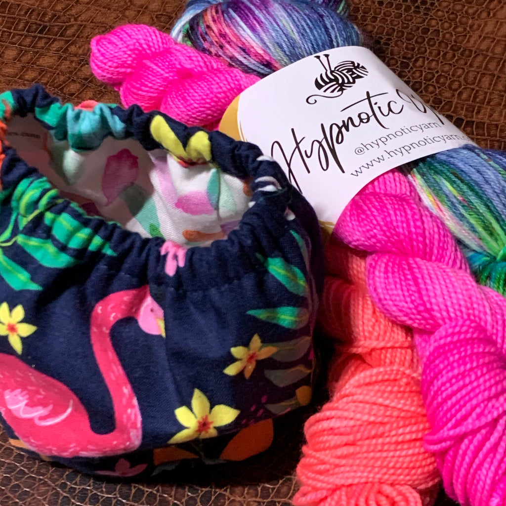 Tropical Sock Set + Cake Coozie