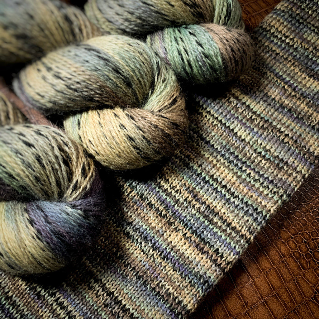 Helix OOAK1, NON Superwash Fingering Weight