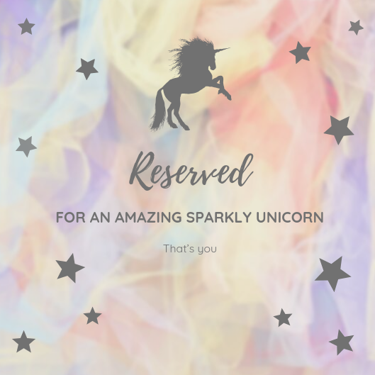 Reserved for Trixie
