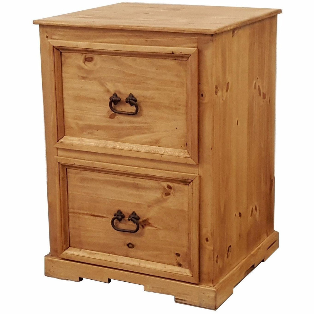 Traditional Short File Cabinet