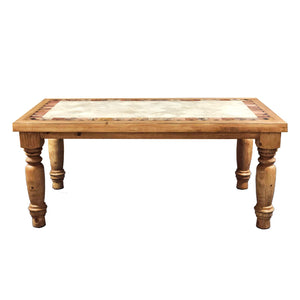 Marble Santa Rita 6' Dining Table
