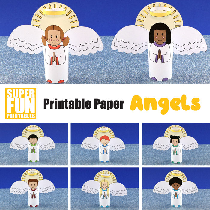 Printable Angels