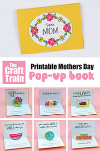 Mothers Day pop up book
