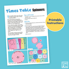 Times Table Spinners