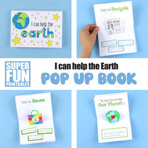 I can help the earth pop up book