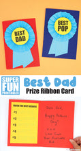 Best Dad Fathers Day Card