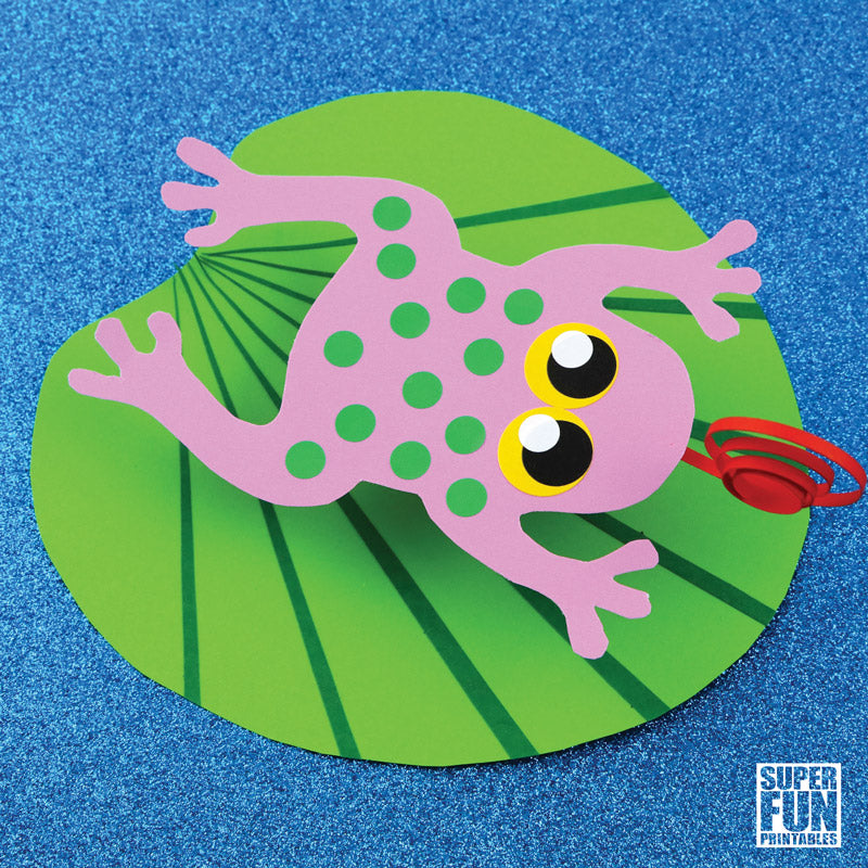Lily Pad Crafts For Preschoolers